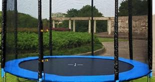 Trampolin Garten Test
