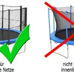 Premium Trampolin Netz (2)