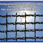 Premium Trampolin Netz (4)