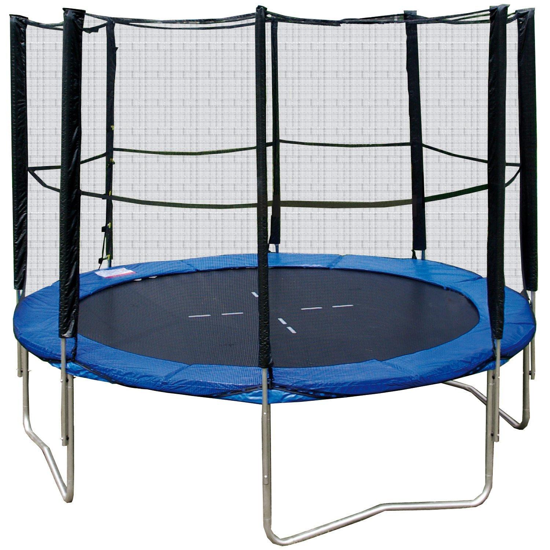 sicherheitsnetz trampolin zubeh r f r ihr trampolin. Black Bedroom Furniture Sets. Home Design Ideas